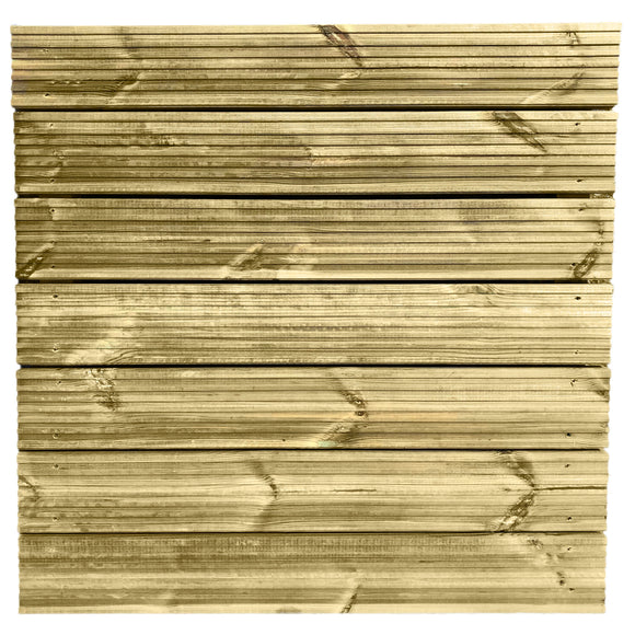 Wooden Decking Tiles 0.9m - Ruby UK