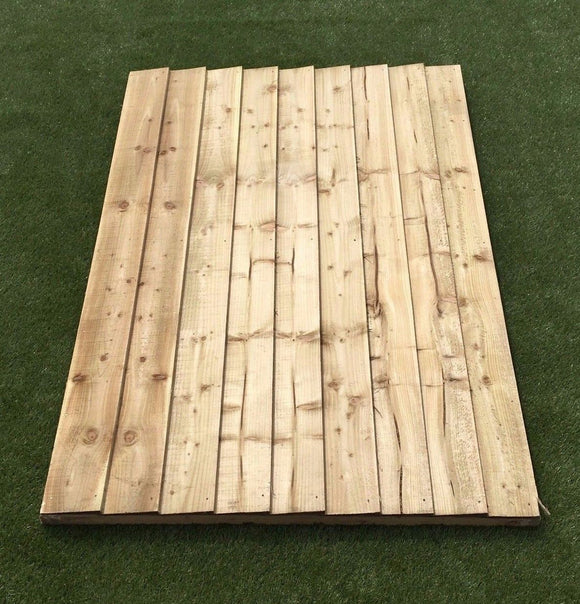 Featheredge Panel - Ruby UK