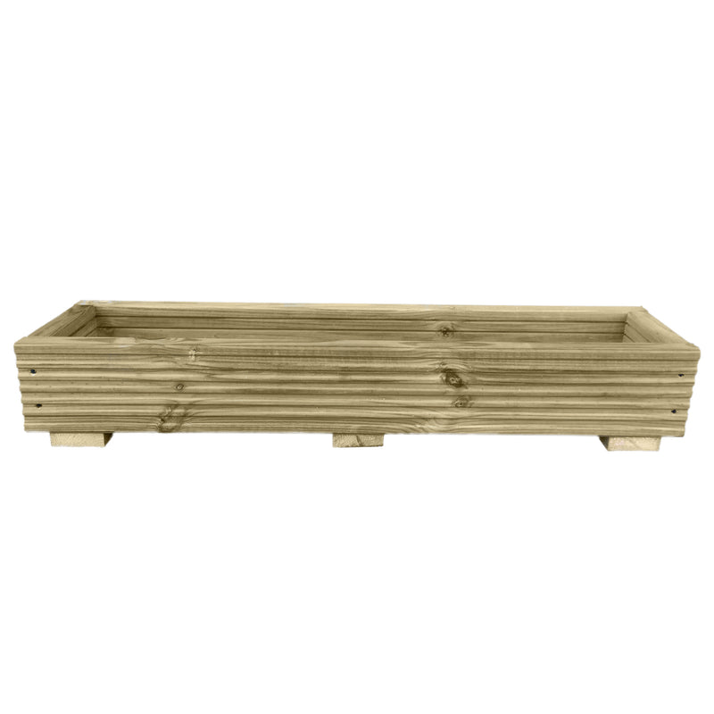 Long Decking Planter Window Box - Ruby UK