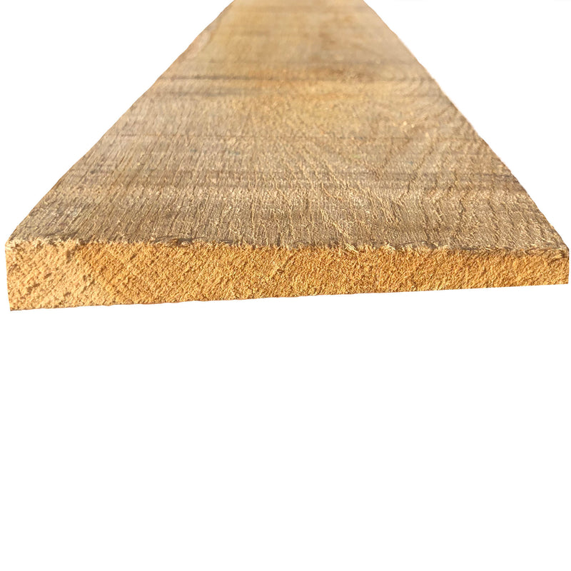 Premium Grade Fresh Sawn Oak Featheredge Boards