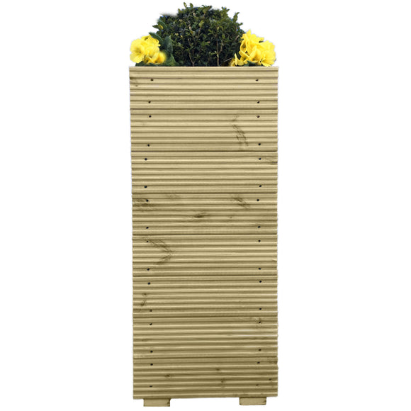 Tall Decking Planter Extra Large - Ruby UK