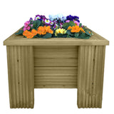 Handmade Premium Wooden Garden Planter - Ruby UK