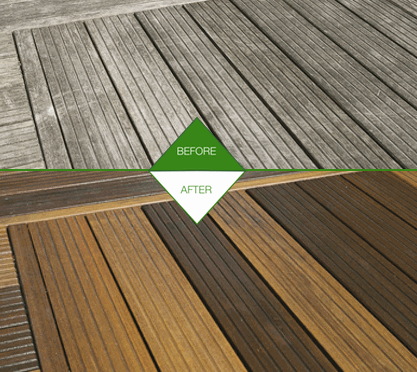 RESTORING GREYED WOODEN SURFACES