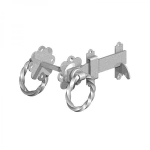"6"" Twisted Ring Latch - Ruby UK"