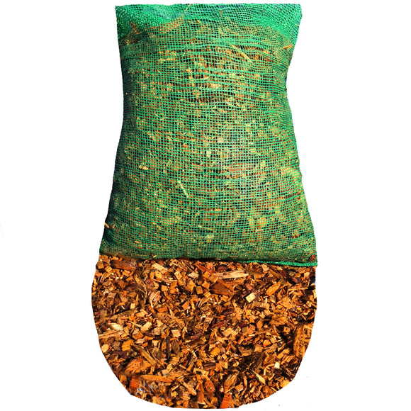 Wood Chip / Bark Chippings 30L Bag - Ruby UK