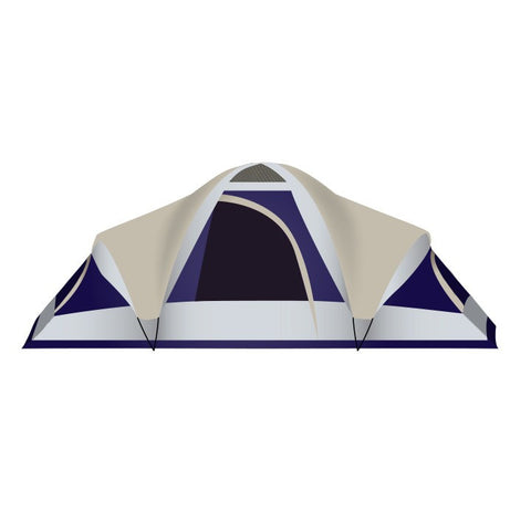 "Grand 18 - 3 Room 10'x18'x72"" Outdoor Camping Tent"