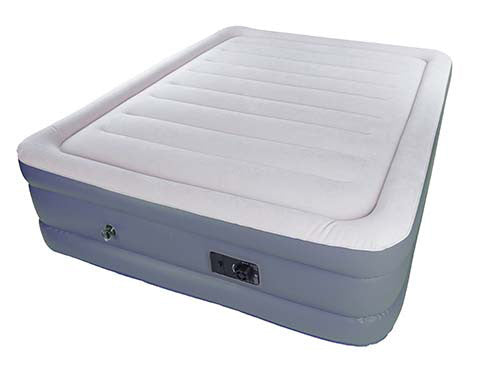 Stansport Double High Air Bed with Built-In Pump