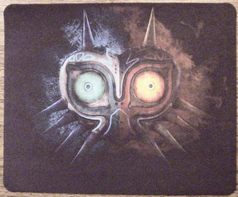 Majora Mask - Legend of Zelda Game Pad Mat - Small Size - 22x18cm 8.5x7inch