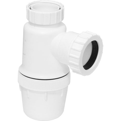 Bottle Trap 76mm x Seal - Plastic Plumb