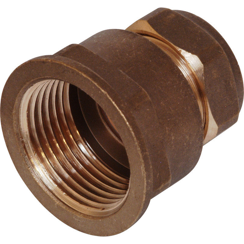 Compression Coupler Female - Plastic Plumb
