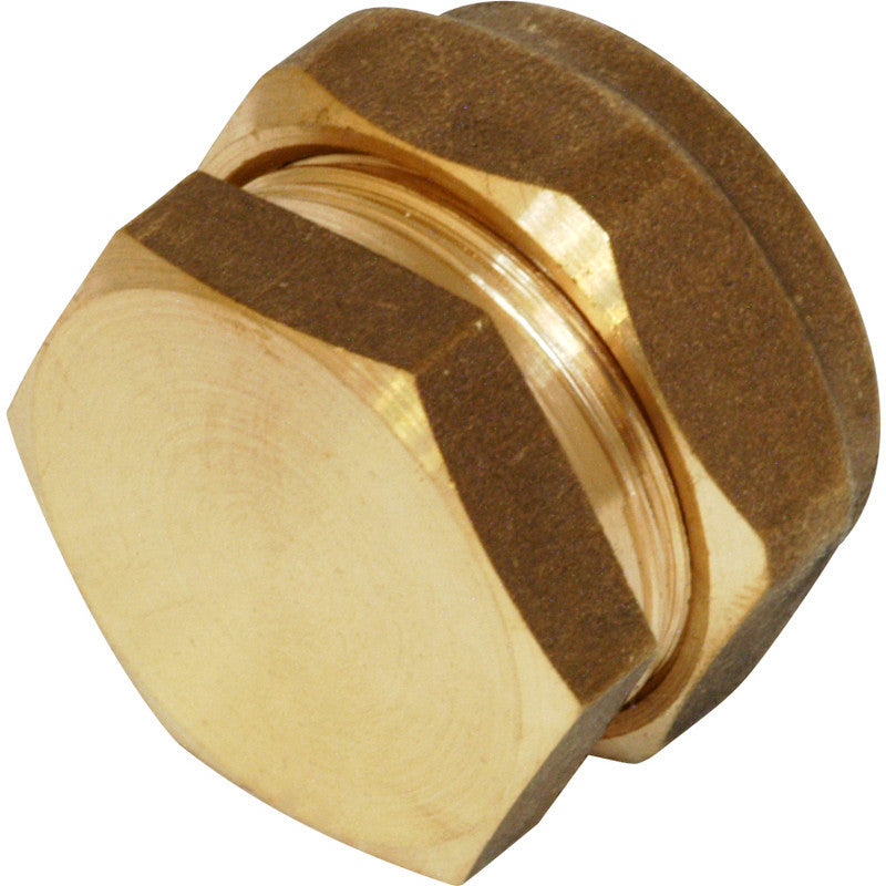 Compression Stop End - Plastic Plumb