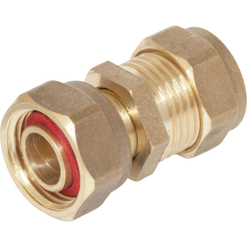 Compression Straight Tap Connector - Plastic Plumb