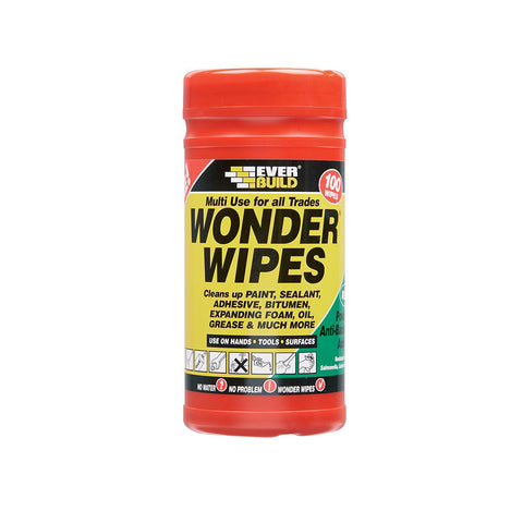Wonder Wipes - 100 wipes - Plastic Plumb