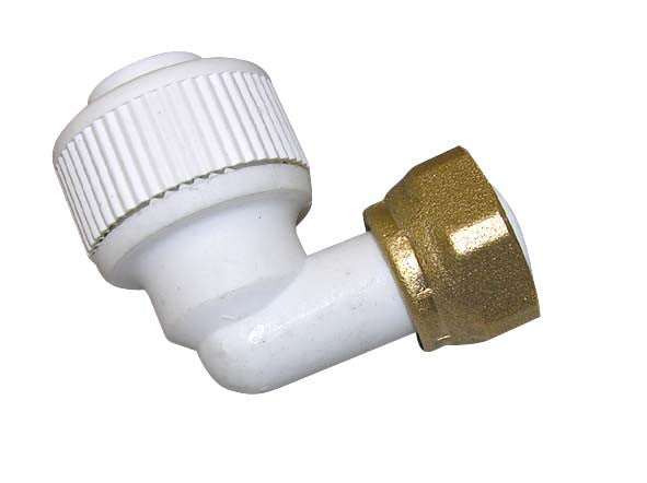 Bent Tap Connectors - Plastic Plumb