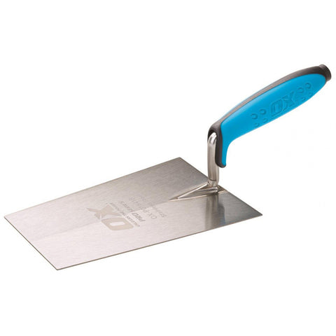 Pro Bucket Trowel - Stainless Steel - Pipe Station