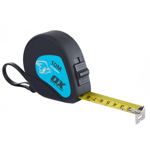 Trade Tape Measure (10M) - Plastic Plumb