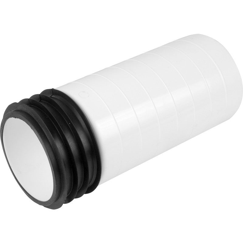 Pan Connector Extension 200mm - Plastic Plumb
