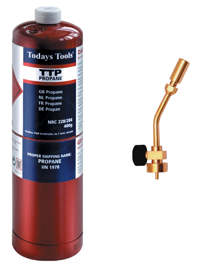 Propane Gas +Torch Pack - Plastic Plumb