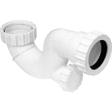 Shallow Bath Trap 20mm Seal - Pipe Station