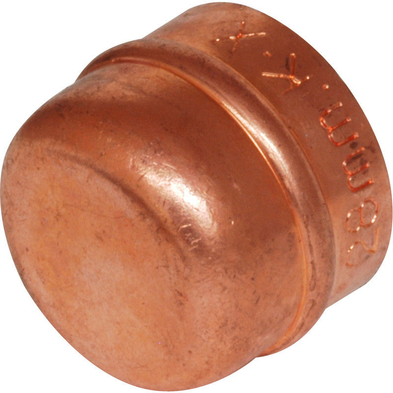 Solder Ring Stop End - Plastic Plumb