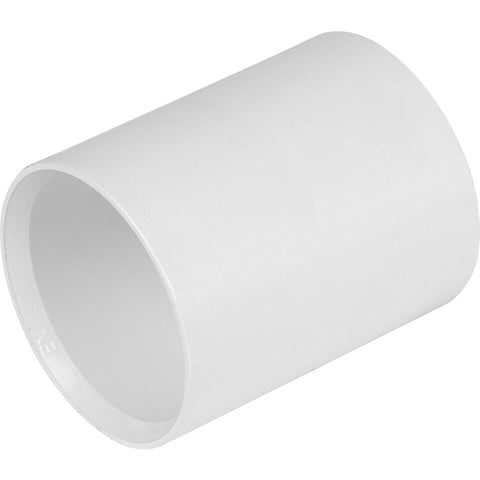 Solvent Weld Straight Coupling - Plastic Plumb