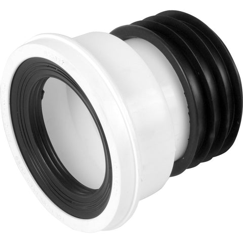 Straight Pan Connector - Plastic Plumb