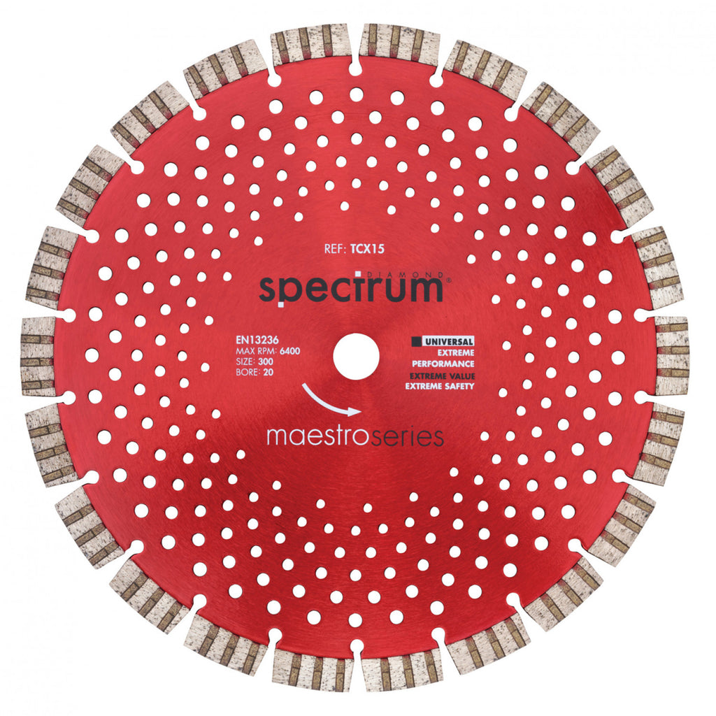 TCX15 Pro Universal Turbo Segmented Diamond Blade