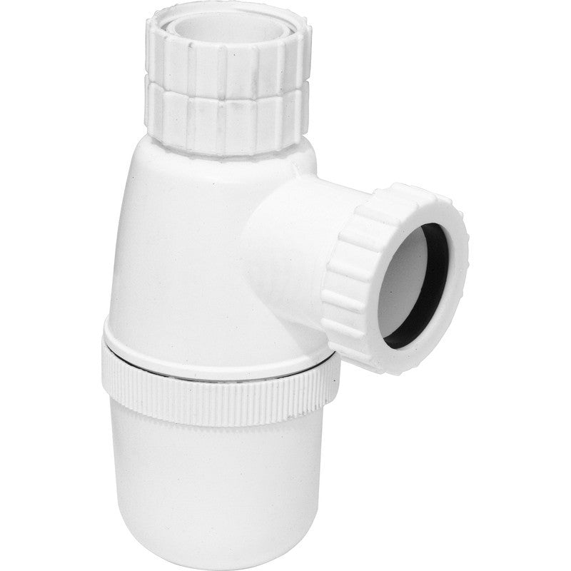 Telescopic Bottle Trap 76mm Seal - Plastic Plumb