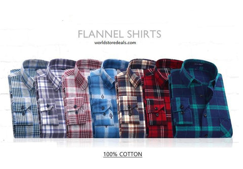 Plaid Shirts Long Sleeve