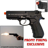 Zoraki Front Firing 2918 Black Finish 9mm Blank Gun