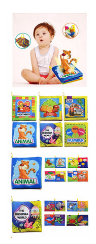 Baby 6 piece Intelligence Book Set