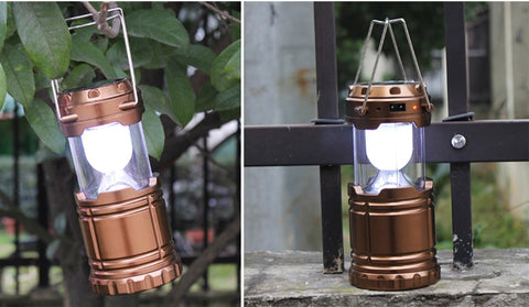 Ultra Bright Rechargeable LED Solar Lanterns Lights Scalable Solar Charging Camping Lantern Tent Lamp Emergency Lights