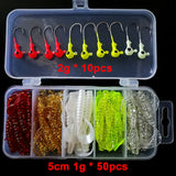 Fishing lures with a lure box