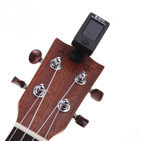 Clip-on Electric Tuner for Guitar Chromatic Bass Violin Ukulele Universal Portable Guitar Tuner