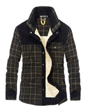 Thick Winter Flannel Coat
