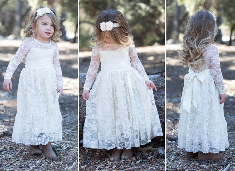BABY WEDDING DRESS CHILDREN