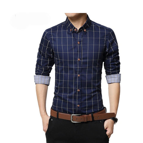 Slim Fit Men Long Sleeve