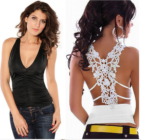 Croceht Lace  Tank Top