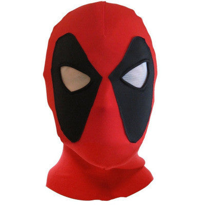 2016 Marvel Deadpool Masks Superhero Cap Balaclava Halloween Costume X-men Hats Headgear Arrow Party Neck Hood Full Face Mask