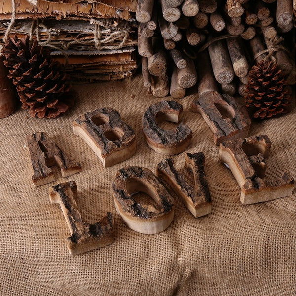Creative Home Decoration Wood Craft Antique Imitation Wooden Letters Model Series For Home/Hotel/Bar/Shops/Restaurant Decor