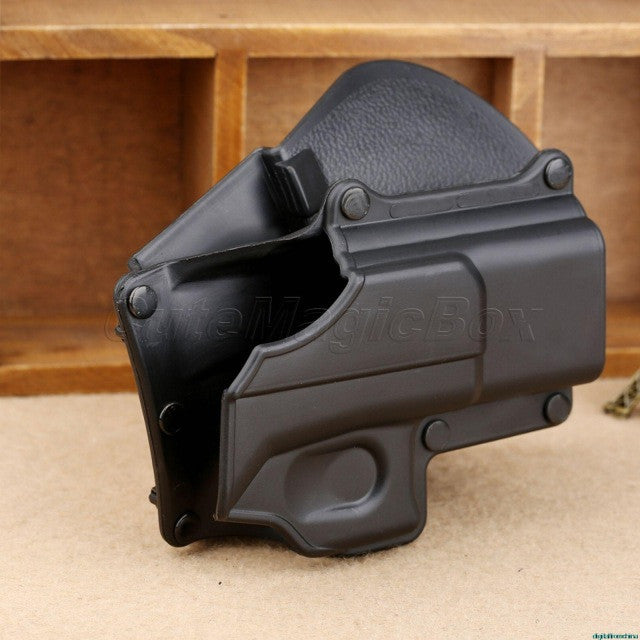 Right Hand Belt Loop Paddle Platform Tactical  Holster Protection for Glck 17 19 22 23 31 32 34 35 Free Shipping