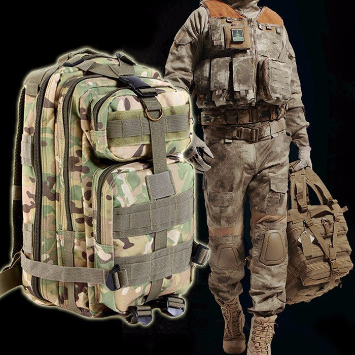 Outdoor Military Army Tactical Backpack Trekking Sport Travel Rucksack