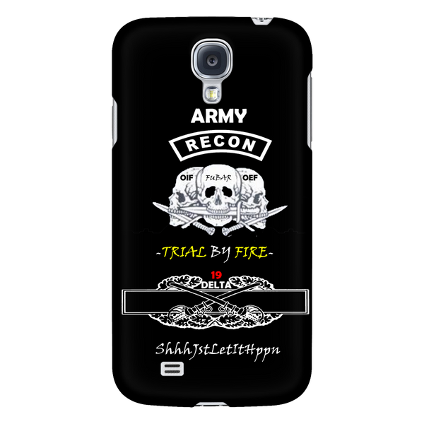 19DELTA TSHIRT CALVARY SCOUT ARMY MOS 19D CALVARY ACTION BADGE IPHONE CASE ANDROID CASE