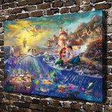 HD Mermaid Canvas