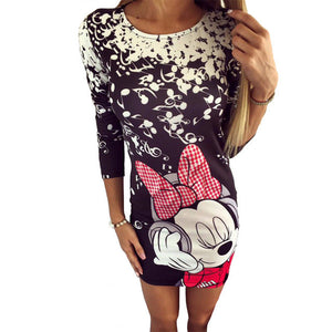Mickey Mouse Long sleeve dress