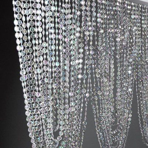 99 Ft of Crystal Garland Beads