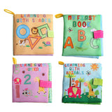 Soft Cloth Book Newborn Brain Game