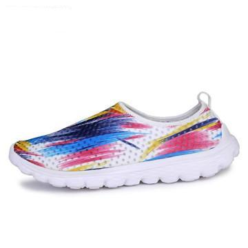 Air mesh breathable shoes