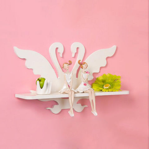 White Swan Wall Racks