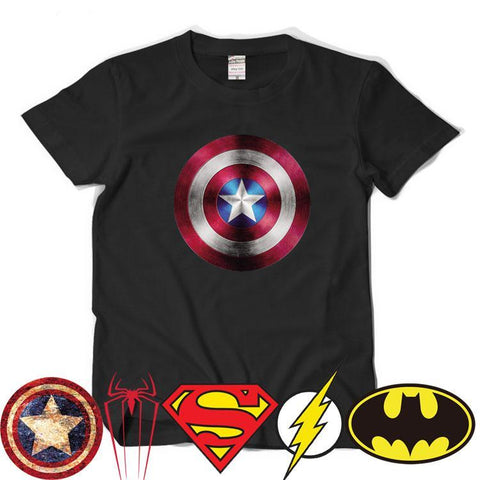 Comic LOGO Super Hero T Shirt 10 styles